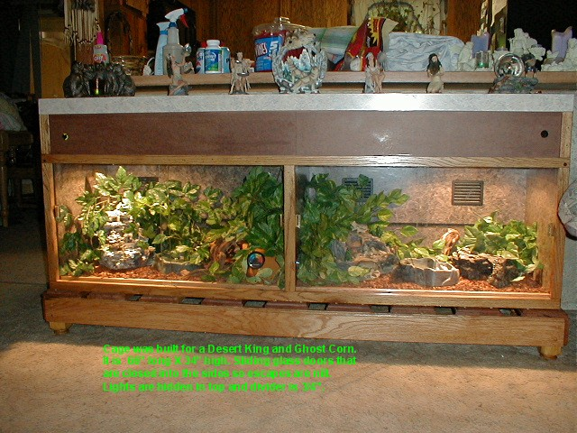 How To Build Enclosures For Reptiles Custom Snake Cages Arboreal