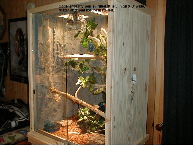 How To Build Enclosures For Reptiles